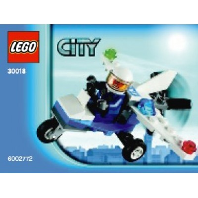 LEGO® City Police Microlight 30018
