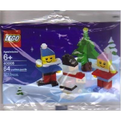 LEGO® Creator Polybag Snowman Building Set 40008