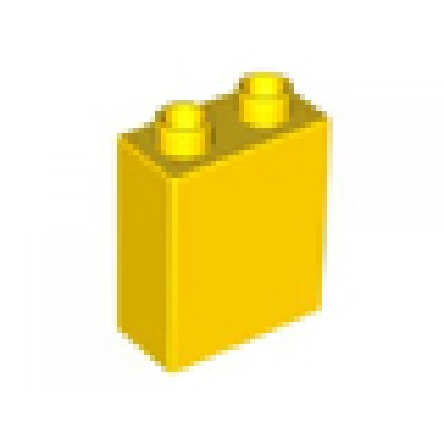 1 x 2 x 2 DUPLO Brick Yellow