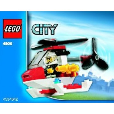 LEGO® City Fire Helicopter - polybag