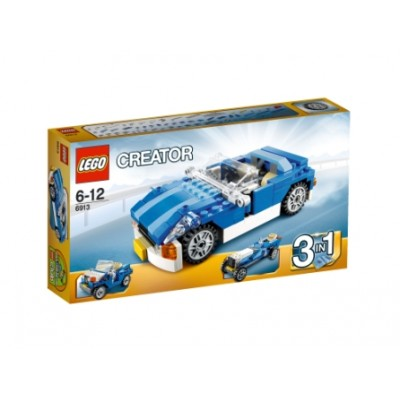 LEGO® Creator Blue Roadster 6913