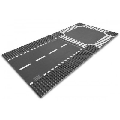 LEGO® City Straight & Crossroad Plates