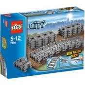 LEGO® City Flexible and Straight Tracks