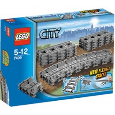 LEGO® City Flexible and Straight Tracks