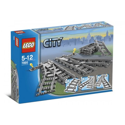 LEGO® City Switching Tracks RC Trains