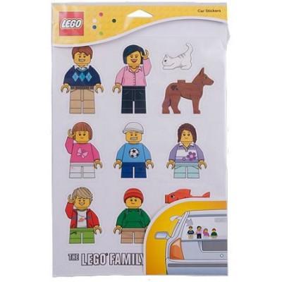 LEGO Family Window Decals