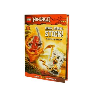 LEGO® NINJAGO®: Ready Steady Sticker Book