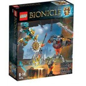 LEGO Bionicle Mask Maker vs. Skull Grinder