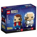 LEGO® BrickHeadz™ Marty McFly and Doc Brown 41611