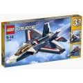 LEGO Blue Power Jet
