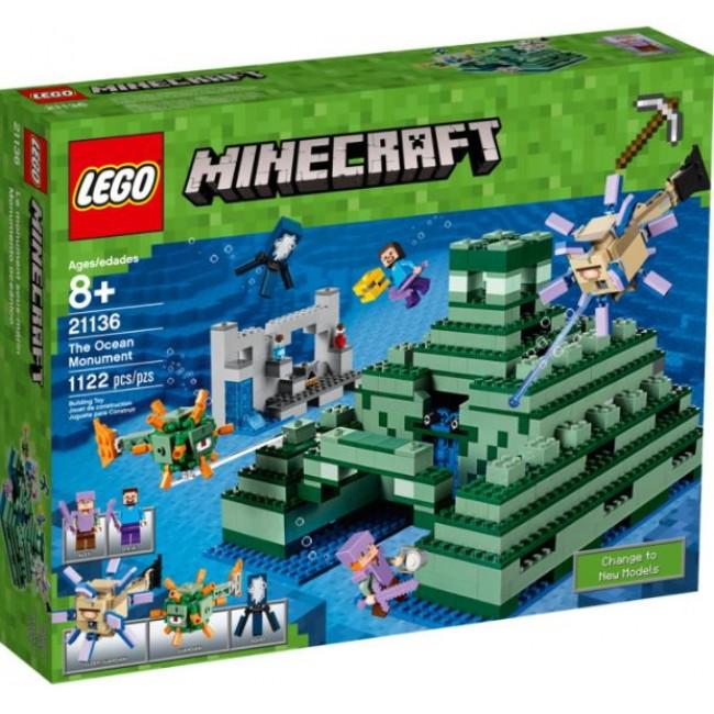 LEGO® Minecraft The Ocean Monument