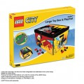 ZipBin® LEGO® CITY FIRE Large Toy Box Playmat