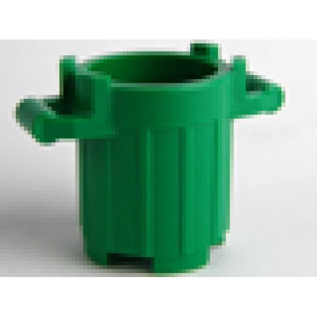 LEGO Rubbish Bin - Trash Can (Green)